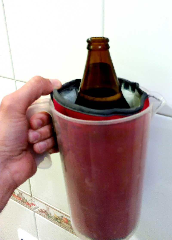 Enfría cerveza home made DIY