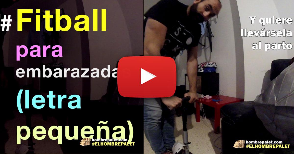 Fitball para embarazadas (letra pequeña)