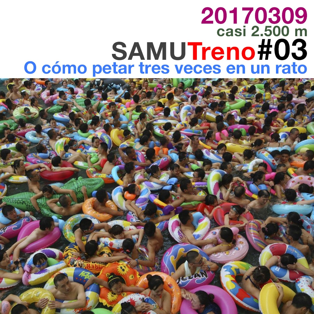 #SamuTreno 03: O cómo petar en una piscina by ElHombrePalet