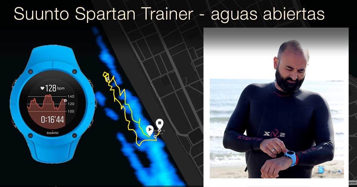 Suunto spartan trainer para aguas abiertas